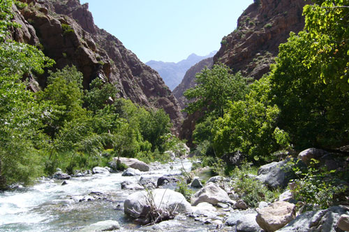 Trek et randonnée dans la Vallée du Zat