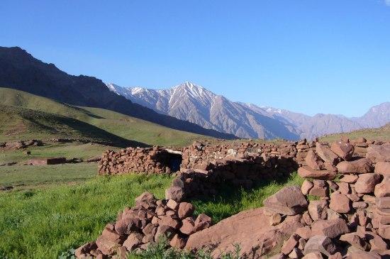 Vallée du Zat au Maroc