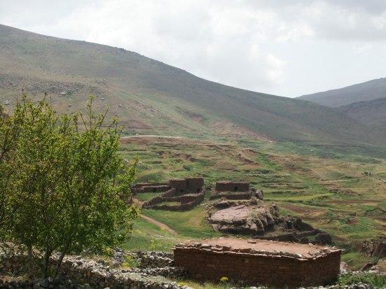 Trekking au Maroc. Vallée du Zat et plateau du Yaggour