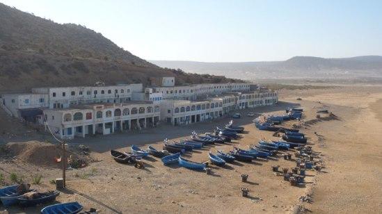 village sur la Côte Atlantique marocaine