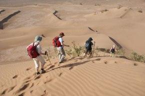 Randonnée dans la vallée du Draa au Maroc