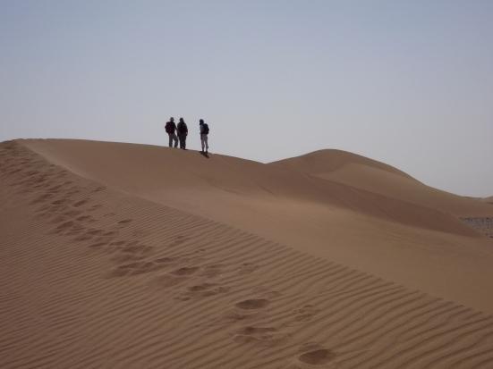 Randonnée dans le désert du Sahara au maroc